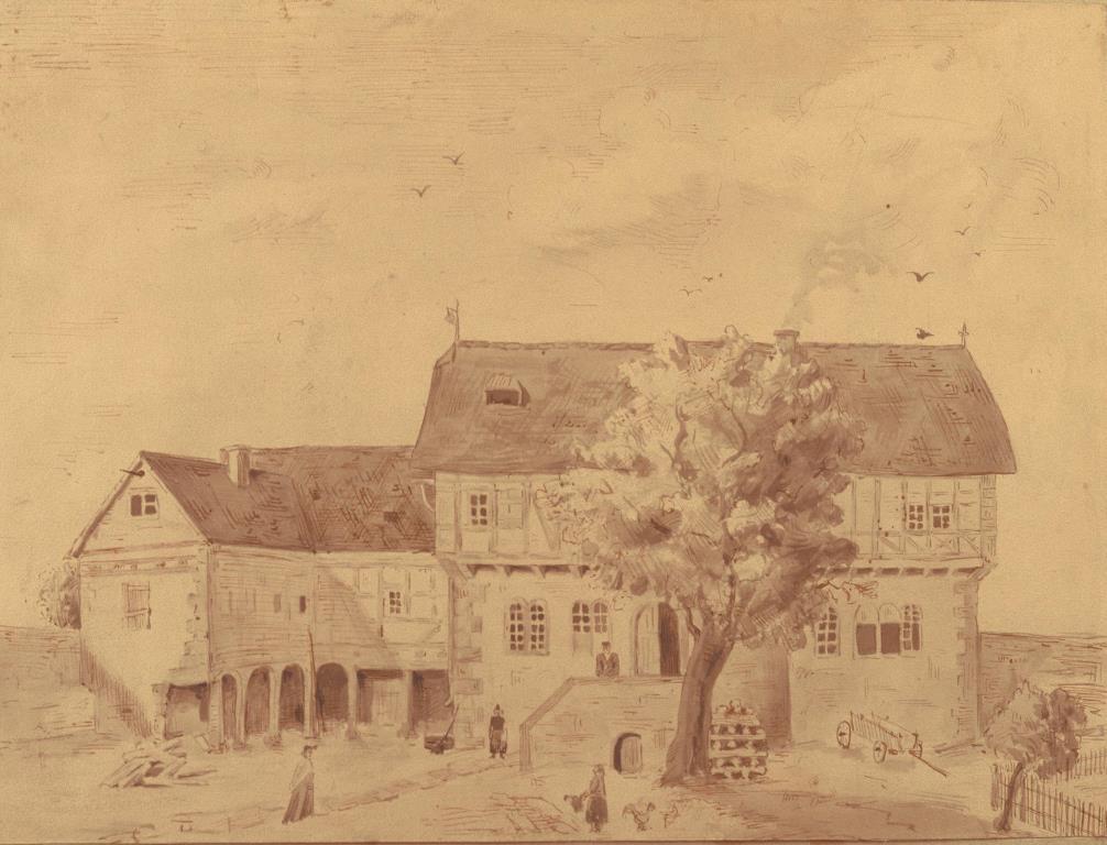 die brder jacob und wilhelm grimm wurden 1785 und 1786 im hessischen hanau geboren 1791 zog die familie grimm nach steinau dort wurde ihr vater amtmann - Gebruder Grimm Lebenslauf