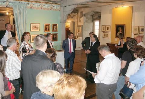 Eröffnung der neuen Grimm-Ausstellung in Schloss Steinau am 10. August durch den Hessischen Minister für Wissenschaft und Kunst Boris Rhein!