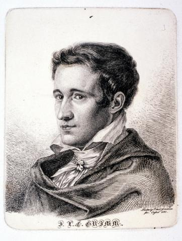 Jacob Grimm als Legationssekretär, 1815