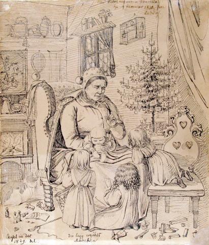 Weihnachten bei Grimms