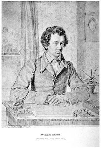 Wilhelm Grimm 1822