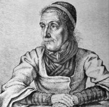 Ludwig Emil Grimm: Dorothea Viehmann